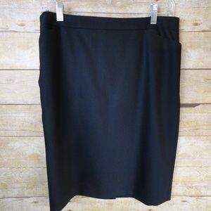 Classic Talbots Italian Wool Lined Skirt